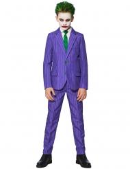 Mr. Joker Suitmeister™-Kostüm für Kinder lila-grün-schwarz