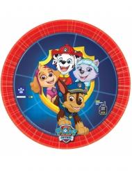Paw Patrol™-Pappteller Kindergeburtstag 8 Stück bunt 18cm