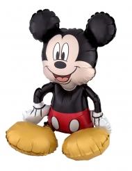 Mickey Maus™-Folienballon Aluminum-Ballon 3D Raumdekoration bunt 45x45cm
