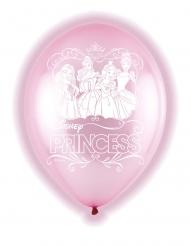 Disney™-LED Luftballons Prinzessin 5 Stück rosa 28 cm