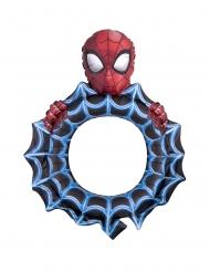 Spiderman™-Folienballon mit Bilderrahmen Kindergeburtstag blau-rot-schwarz 68x81cm