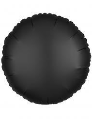 Folienballon rund Raumdekoration schwarz 43cm