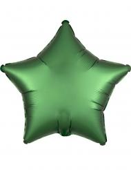 Aluminium-Sternenballon Partydeko für Festlichkeiten grün 43 cm