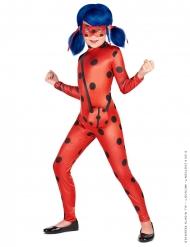 Ladybug™-Mädchenkostüm mit Tasche Miraculous™ rot-schwarz