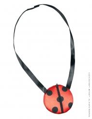Ladybug™-Umhängetasche für Mädchen Miraculous™ Lizenz-Zubehör schwarz-rot