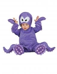 Kleine Krake-Babykostüm Tier-Verkleidung lila