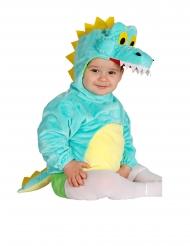 Lustiges Dinosaurier-Kostüm für Kleinkinder bunt