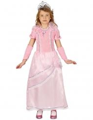 Zauberhaftes Prinzessinnen-Kostüm Mädchen rosa