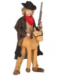 Reitender Cowboy Pferdehose-Kostümzubehör braun