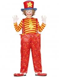 Witziges Clownkostüm für Jungen Zirkus-Verkleidung bunt