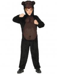 Gorilla-Kinderkostüm tierische-Verkleidung braun