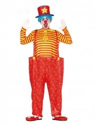 Manege Clownkostüm für Herren Zirkus-Verkleidung bunt