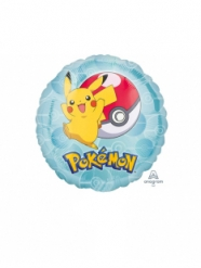 Pokemon™-Folienballon Raumdekoration bunt 23cm