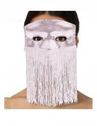 Fransen-Augenmaske für Erwachsene rosa