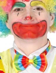 Bunte Clown-Fliege für Erwachsene