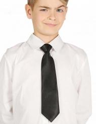 Schwarze Krawatte für Kinder