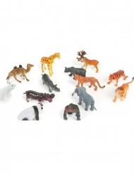 Kleine Tiere Tiermodelle 6cm bunt