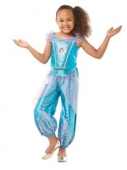 Prinzessin Jasmin™-Mädchenkostüm aus Aladdin türkis-lila