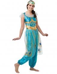 Prinzessin Jasmin™-Damenkostüm aus Aladdin™ türkis-gold