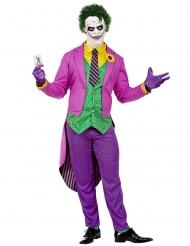 Psychopatisches-Clownkostüm für Erwachsene Halloween bunt