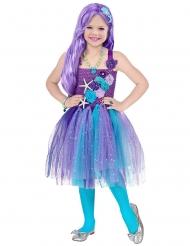 Bezauberndes Meerjungfrauen-Kostüm für Mädchen türkis-lila
