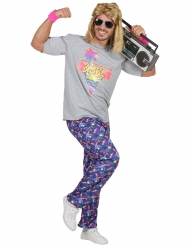 Beachboy-Herrenkostüm 80er-Jahre-Verkleidung bunt