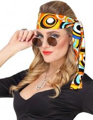70er-Jahre Disco-Haarband Accessoire für Damen bunt