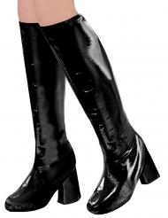 Stiefel-Überzieher für jegliche Anlässe Damen-Accessoire schwarz