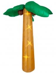 Palme aufblasbar mit Licht-Funktion Partyzubehör braun-grün 270 cm