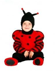Süßer Marienkäfer Kleinkind-Kostüm schwarz-rot