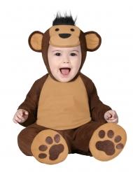 Affenbaby-Kostüm für Kleinkinder Tier-Verkleidung braun