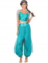 Arabische Prinzessin Kostüm für Damen Orient türkis