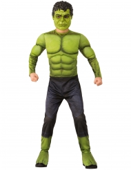 Hulk™-Kostüm für Jungen Infinity War™-Lizenz-Verkleidung grün-schwarz