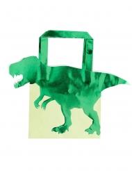 Dinosaurier-Geschenktüte 5 Stück grün