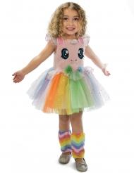 Einhorn Kostüm für Mädchen aus Plüsch und Tüll