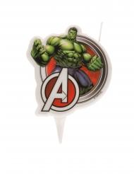 Hulk™-Kerze Kindergeburtstag Avengers™-Kuchendeko bunt