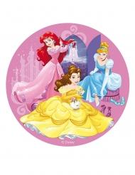 Disney™-Tortenaufleger mit Prinzessinnen-Motiv bunt 20cm