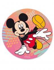Mickey Maus™-Tortenbild Geschenkidee bunt 20cm