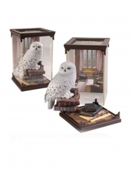 Harry Potter™-Hedwig-Figur Dekoration weiss-braun 18 cm