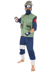 Naruto™ Kakashi-Kostüm für Herren Lizenz-Verkleidung grün-blau