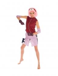 Naruto™-Kostüm für Damen Anime bunt
