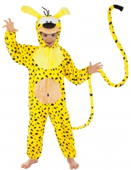 Marsupilami™ Tierkostüm für Kinder gelb-schwarz