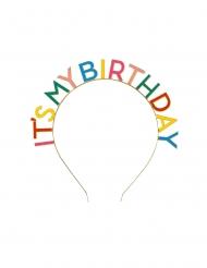 Haarreif für den Geburtstag Accessoire für Erwachsene bunt