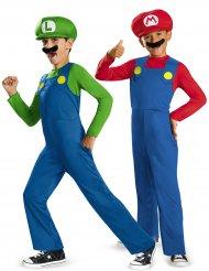 Super Mario™ und Luigi™ Paarkostüm für Kinder