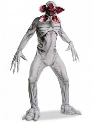 Demogorgon™-Stranger Things Fantasy Kostüm für Erwachsene weiss-rot-grau