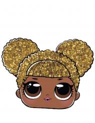 LOL Surprise™-Kindermaske Queen B für Mädchen gold-braun
