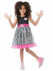 LOL Surprise™ Diva Mädchenkostüm schwarz-pink-weiss
