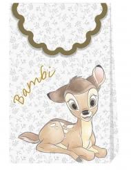 Bambi™-Geschenktaschen Kindergeburtstag 6 Stück bunt 21x13cm