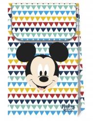 Mickey Maus™-Geschenktüten Deluxe 6 Stück bunt 21x13cm