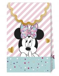 Minnie Maus™-Geschenktaschen 6 Stück bunt 21x13cm